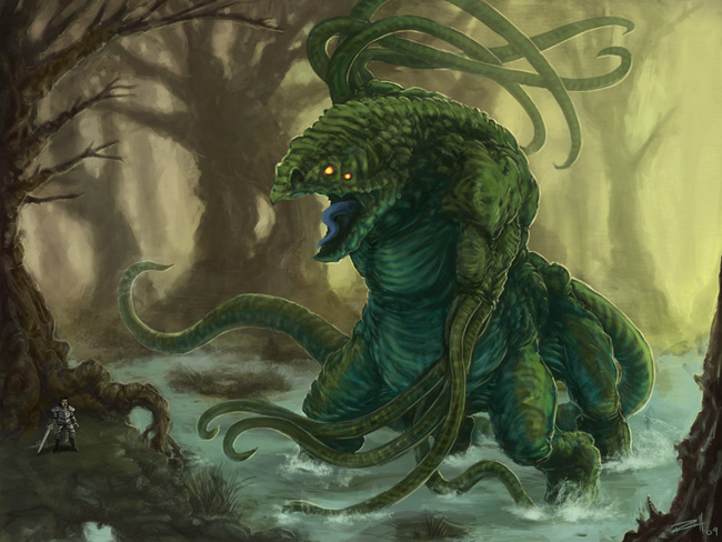 C.O.W. - #028: Swamp Beast - VOTING!!!